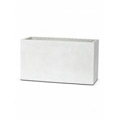 Кашпо Capi Lux middle envelope 1-й размер light grey, серый, светло-серый