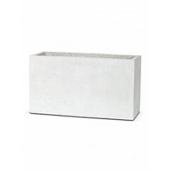 Кашпо Capi Lux middle envelope 2-й размер light grey, серый, светло-серый