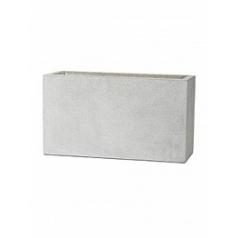 Кашпо Capi Lux middle envelope light grey, серый, светло-серый