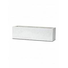 Кашпо Capi Lux planter rectangle 2-й размер light grey, серый, светло-серый
