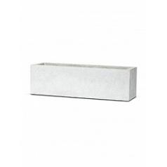 Кашпо Capi Lux planter rectangle 3-й размер light grey, серый, светло-серый
