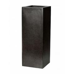 Кашпо Capi Lux planter square 1-й размер black, чёрный