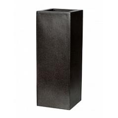 Кашпо Capi Lux planter square 2-й размер black, чёрный