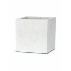 Кашпо Capi Lux pot square 1-й размер light grey, серый, светло-серый