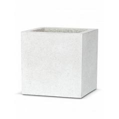 Кашпо Capi Lux pot square 2-й размер light grey, серый, светло-серый