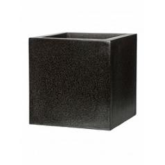 Кашпо Capi Lux pot square 5-й размер black, чёрный
