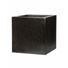 Кашпо Capi Lux pot square 6-й размер black, чёрный
