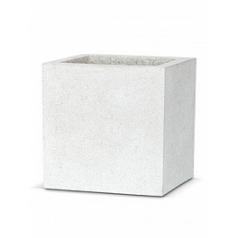 Кашпо Capi Lux pot square 7-й размер light grey, серый, светло-серый
