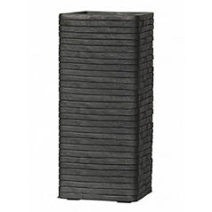 Кашпо Capi Nature row pot rectangular anthracite, антрацит