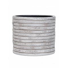 Кашпо Capi Nature row vase cylinder 2-й размер ivory, слоновая кость
