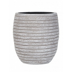 Кашпо Capi Nature row vase elegant high 2-й размер ivory, слоновая кость