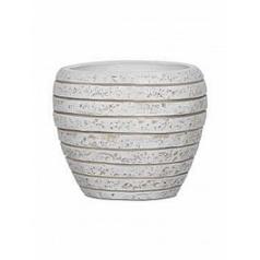 Кашпо Capi Nature row vase tapering round li ivory, слоновая кость