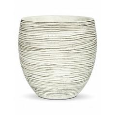 Кашпо Capi Nature vase elegance rib i5 ivory, слоновая кость