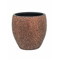Кашпо Capi Nature wood vase elegant 3-й размер brown, коричневый