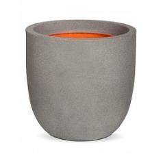 Кашпо Capi Tutch nl egg planter 2-й размер light grey, серый, светло-серый