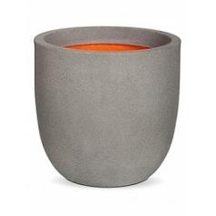 Кашпо Capi Tutch nl egg planter 4-й размер light grey, серый, светло-серый