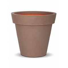 Кашпо Capi Tutch nl pot + binding camel, желтовато-коричневый