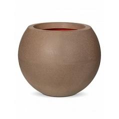 Кашпо Capi Tutch nl vase ball i5 camel, желтовато-коричневый