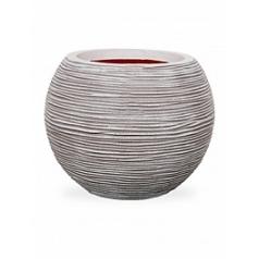 Кашпо Capi Tutch rib nl vase vase ball ivory, слоновая кость