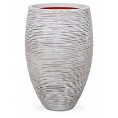 Кашпо Capi Tutch rib nl vase vase elegant deLuxe ivory, слоновая кость