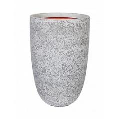 Кашпо Capi Tutch rock nl vase elegant ivory, слоновая кость