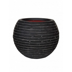 Кашпо Capi Tutch row nl vase ball anthracite, антрацит