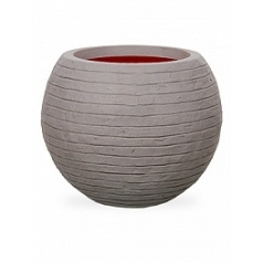 Кашпо Capi Tutch row nl vase vase ball grey, серый
