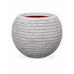 Кашпо Capi Tutch row nl vase vase ball ivory, слоновая кость