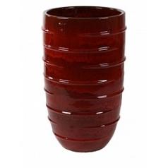 Кашпо Nieuwkoop Classic red, красного цвета partner (beauty)