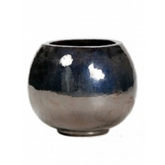 Кашпо Nieuwkoop Metal glaze globe