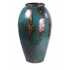 Ваза Nieuwkoop Mystic vase blue, голубого/синего цвета