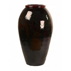 Ваза Nieuwkoop Mystic vase middle black, чёрного цвета, с неполным очернением