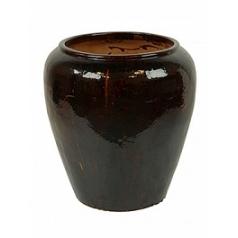 Горшок Nieuwkoop Mystic pot middle black, чёрного цвета, с неполным очернением