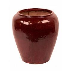 Горшок Nieuwkoop Mystic pot red, красного цвета black, чёрного цвета, красно-чёрного цвета