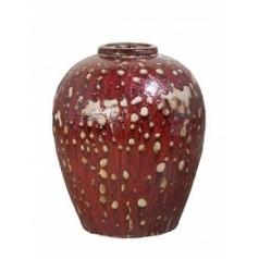 Винный кувшин Mystic ocean wine jar red, красного цвета
