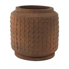 Кашпо Nieuwkoop Ralf cylinder rusty