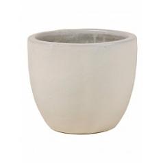 Кашпо Nieuwkoop ecru, серовато-бежевого цвета/white, белого цвета couple extra