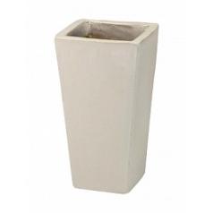 Кашпо Nieuwkoop ecru, серовато-бежевого цвета/white, белого цвета kubis