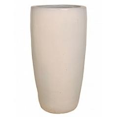 Кашпо Nieuwkoop ecru, серовато-бежевого цвета/white, белого цвета partner extra