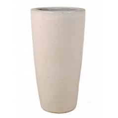 Кашпо Nieuwkoop ecru, серовато-бежевого цвета/white, белого цвета partner
