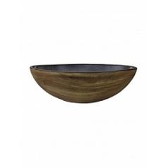 Кашпо Nieuwkoop Indoor pottery boat cresta caramel, карамельного цвета