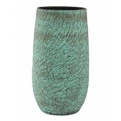 Кашпо Nieuwkoop Indoor pottery planter fay blue, голубого/синего цвета gold, под цвет золота