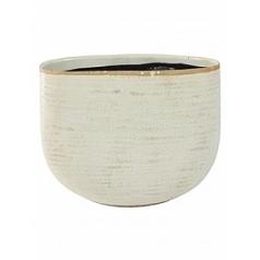 Кашпо Nieuwkoop Indoor pottery planter iris ivory, слоновая кость