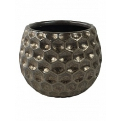 Кашпо Nieuwkoop Indoor pottery pot beau bronze, бронзового цвета