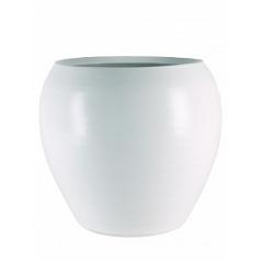 Кашпо Nieuwkoop Indoor pottery pot cresta pure white, белого цветаpure white, белого цвета