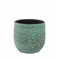 Кашпо Nieuwkoop Indoor pottery pot evi antiq bronze, бронзового цвета