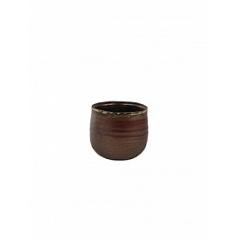 Кашпо Nieuwkoop Indoor pottery pot iris rust