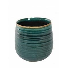 Кашпо Nieuwkoop Indoor pottery pot iris turqoise