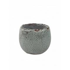 Кашпо Nieuwkoop Indoor pottery pot kirsty цвета голубого льда