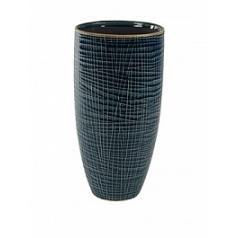 Кашпо Nieuwkoop Indoor pottery pot lotte denim blue, голубого/синего цвета